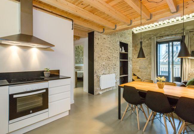 Apartment in Gerona / Girona - Flateli Cort Reial - Verd